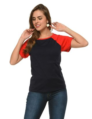 frenchtrendz-cotton-raglan-navy-red-cap-sleeves-top