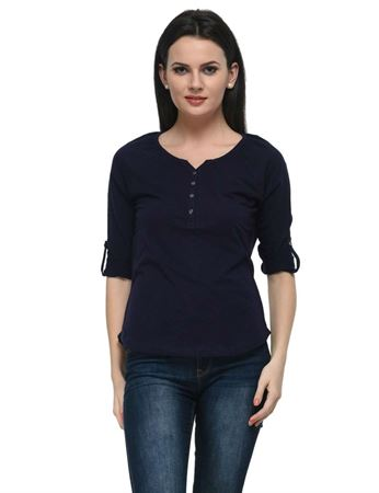 frenchtrendz-cotton-slub-raglan-henley-navy-top