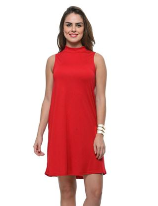 frenchtrendz-poly-viscose-maroon-dress