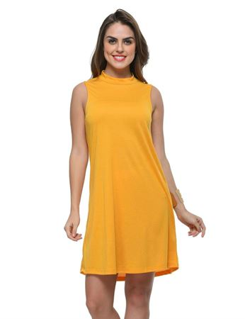 frenchtrendz-poly-viscose-mustard-dress