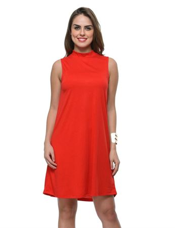frenchtrendz-poly-viscose-red-dress