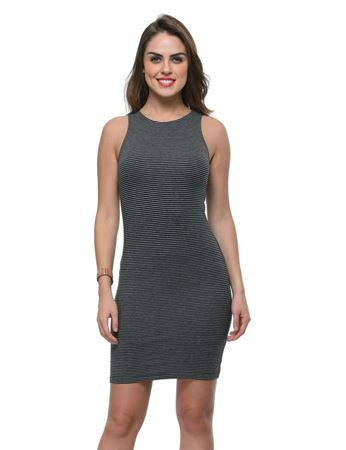 frenchtrendz-cotton-spandex-fitted-black-grey-dress