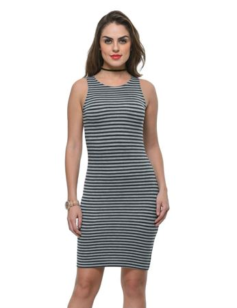 frenchtrendz-viscose-spandex-stripe-fitted-charcoal-grey-dress