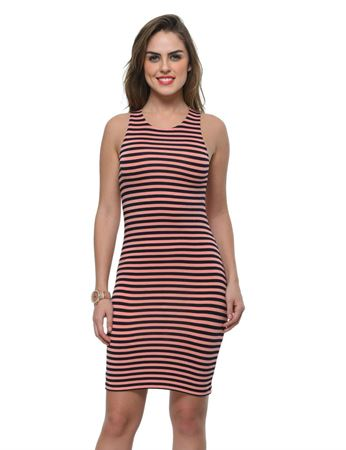 frenchtrendz-viscose-spandex-stripe-fitted-coral-navy-dress
