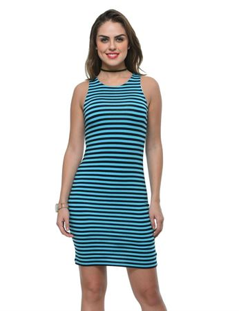frenchtrendz-viscose-spandex-stripe-fitted-turq-navy-dress