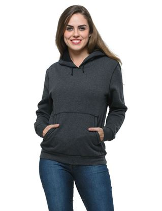 frenchtrendz-charcoal-cotton-fleece-plain-hoodie