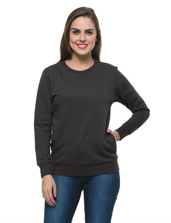 frenchtrendz-cotton-fleece-dark-grey-sweatshirt