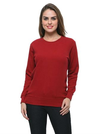 frenchtrendz-cotton-maroon-sweatshirt