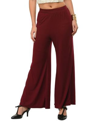 frenchtrendz-plum-plazo-pants