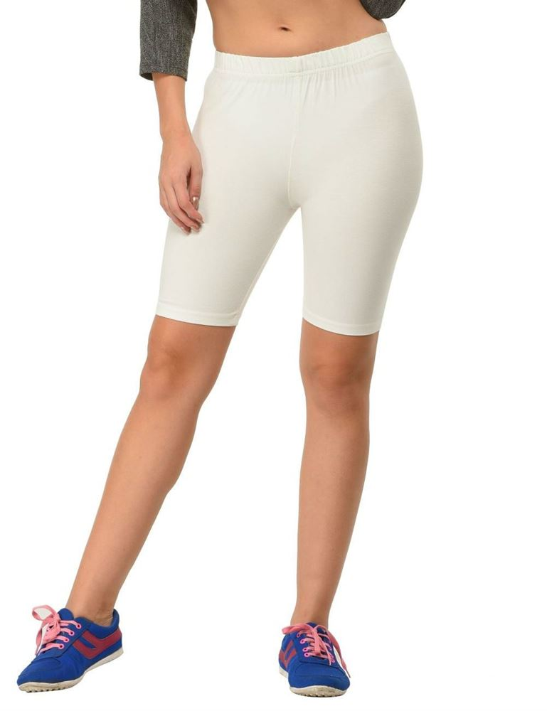 frenchtrendz-cotton-spandex-ivory-cycling-shorts