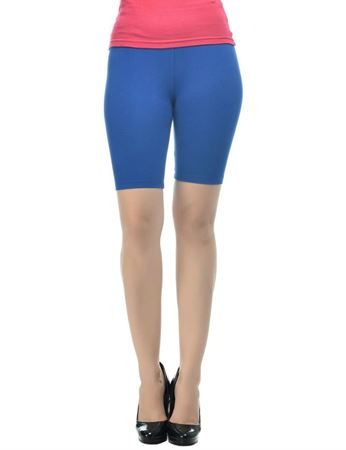 frenchtrendz-viscose-spandex-ink-blue-cycling-shorts