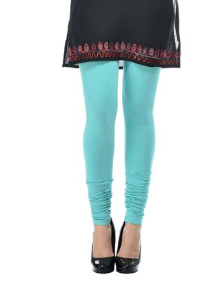 frenchtrendz-cotton-spandex-aqua-churidar-legging