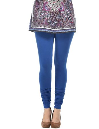 frenchtrendz-cotton-spandex-azure-churidar-legging
