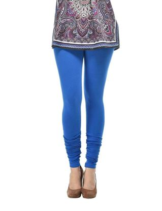 frenchtrendz-cotton-spandex-blue-churidar-legging
