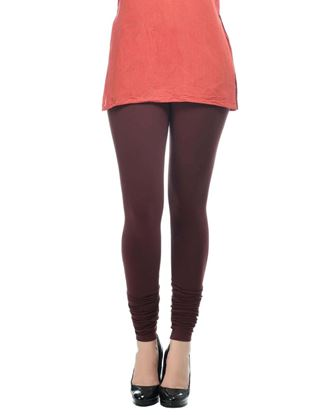 frenchtrendz-cotton-spandex-choco-churidar-legging