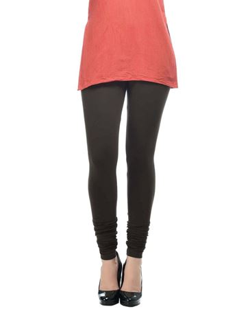 frenchtrendz-cotton-spandex-dark-choco-churidar-legging
