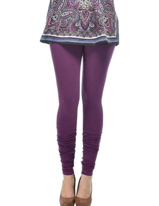 frenchtrendz-cotton-spandex-dark-purple-churidar-legging