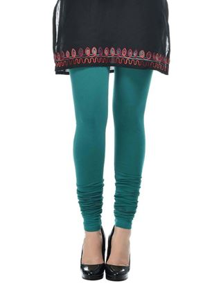 frenchtrendz-cotton-spandex-dark-turq-churidar-legging
