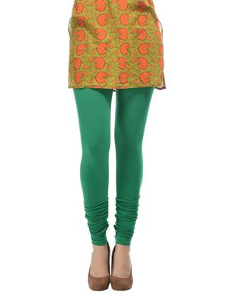 frenchtrendz-cotton-spandex-green-churidar-legging