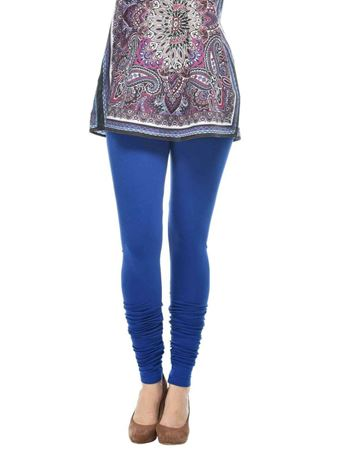 frenchtrendz-cotton-spandex-ink-blue-churidar-legging