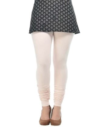 frenchtrendz-cotton-spandex-peach-churidar-legging