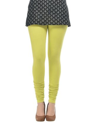 frenchtrendz-cotton-spandex-lime-churidar-legging