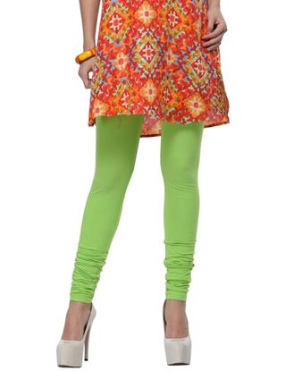 frenchtrendz-cotton-spandex-lime-green-churidar-legging