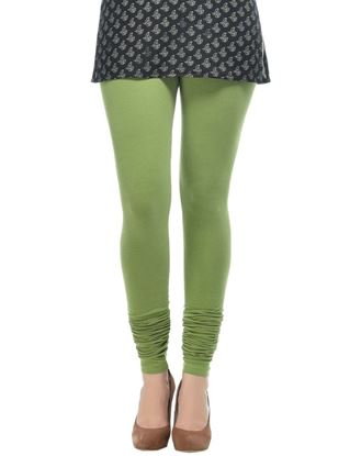 frenchtrendz-cotton-spandex-parrot-green-churidar-legging