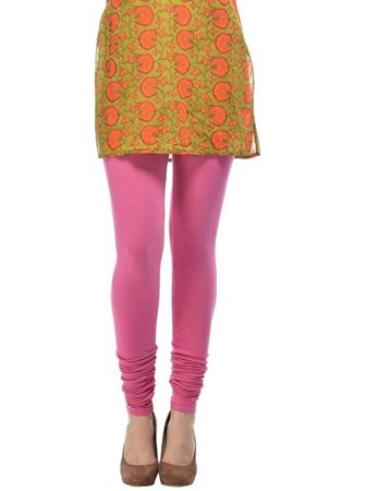 frenchtrendz-cotton-spandex-pink-churidar-legging