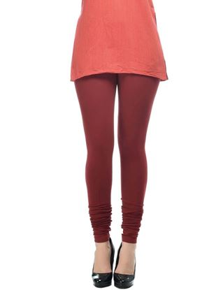 frenchtrendz-cotton-spandex-plum-churidar-legging