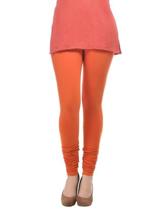 frenchtrendz-cotton-spandex-rust-churidar-legging