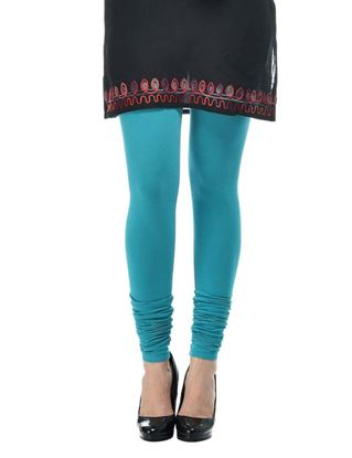 frenchtrendz-cotton-spandex-turq-churidar-legging