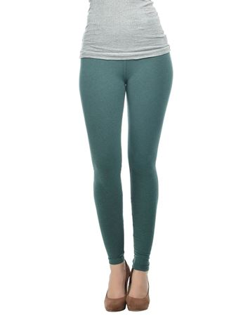 frenchtrendz-cotton-melange-dark-green-ankle-legging
