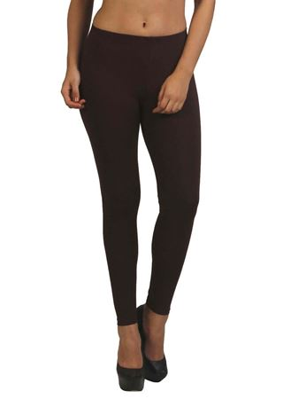 frenchtrendz-cotton-spandex-chocolate-ankle-legging