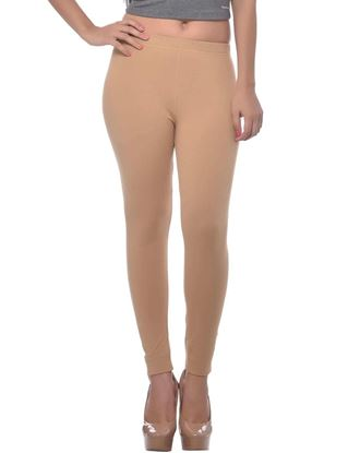 frenchtrendz-cotton-spandex-dark-beige-ankle-legging