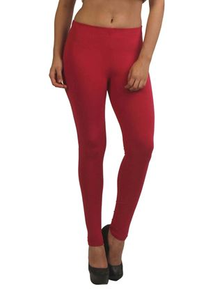 frenchtrendz-cotton-spandex-dark-fuchsia-ankle-legging
