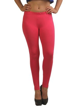 frenchtrendz-cotton-spandex-dark-pink-ankle-legging
