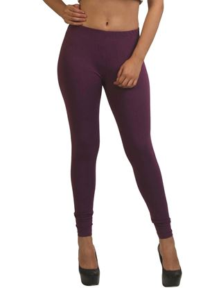 frenchtrendz-cotton-spandex-dark-purple-ankle-legging