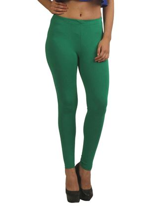frenchtrendz-cotton-spandex-green-ankle-legging