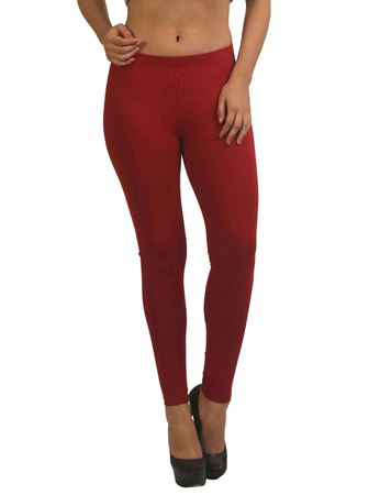 frenchtrendz-cotton-spandex-maroon-ankle-legging