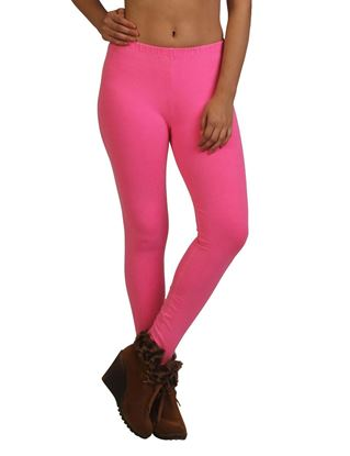 frenchtrendz-cotton-spandex-neon-pink-ankle-legging