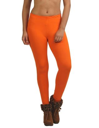 frenchtrendz-cotton-spandex-orange-ankle-legging