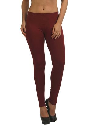 frenchtrendz-cotton-spandex-plum-ankle-legging