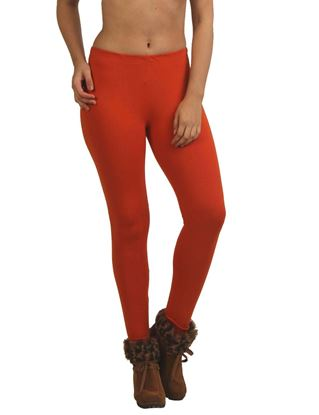 frenchtrendz-cotton-spandex-rust-ankle-legging