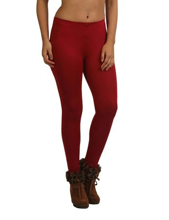 frenchtrendz-modal-spandex-maroon-ankle-legging