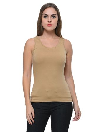 frenchtrendz-cotton-spandex-dark-beige-tank-top