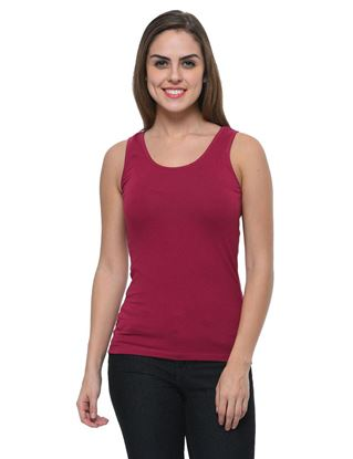 frenchtrendz-cotton-spandex-dark-violet-tank-top