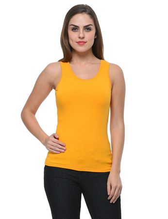 frenchtrendz-cotton-spandex-light-mustard-tank-top