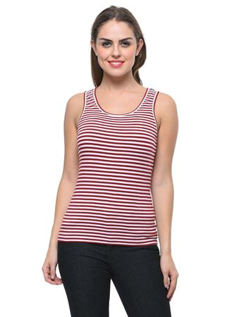 frenchtrendz-cotton-spandex-maroon-white-stripes-tank-top