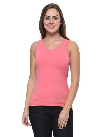frenchtrendz-cotton-spandex-coral-tank-top